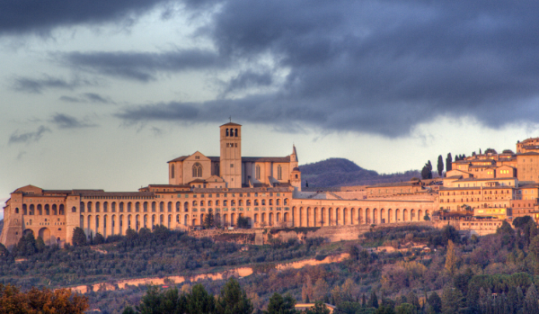 panoramic of Assisi