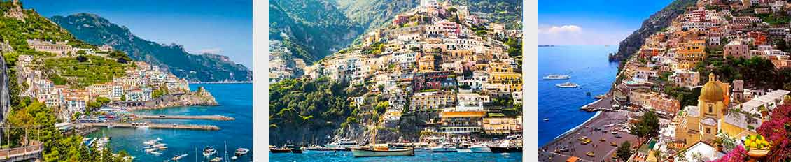 Positano private tour from Rome