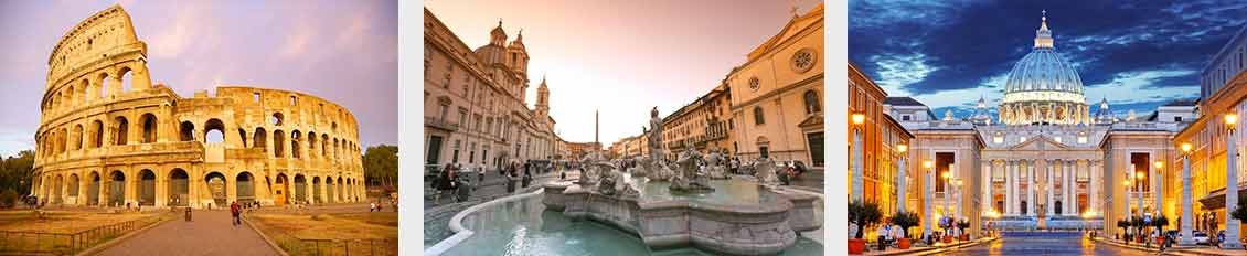 Day trips from Roma to Milan